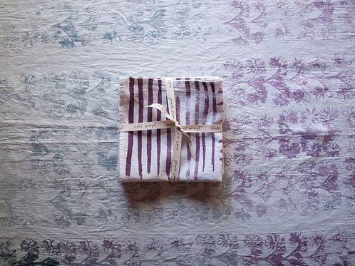 Napkin Set of 4, Stripe