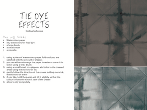 Free e-zine: Happy Accidents - ideas for experimental mark making