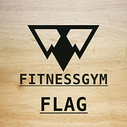 FITNESSGYM FLAG フィットネスジムフラッグ