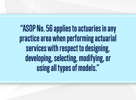 ASB Releases New Modeling ASOP