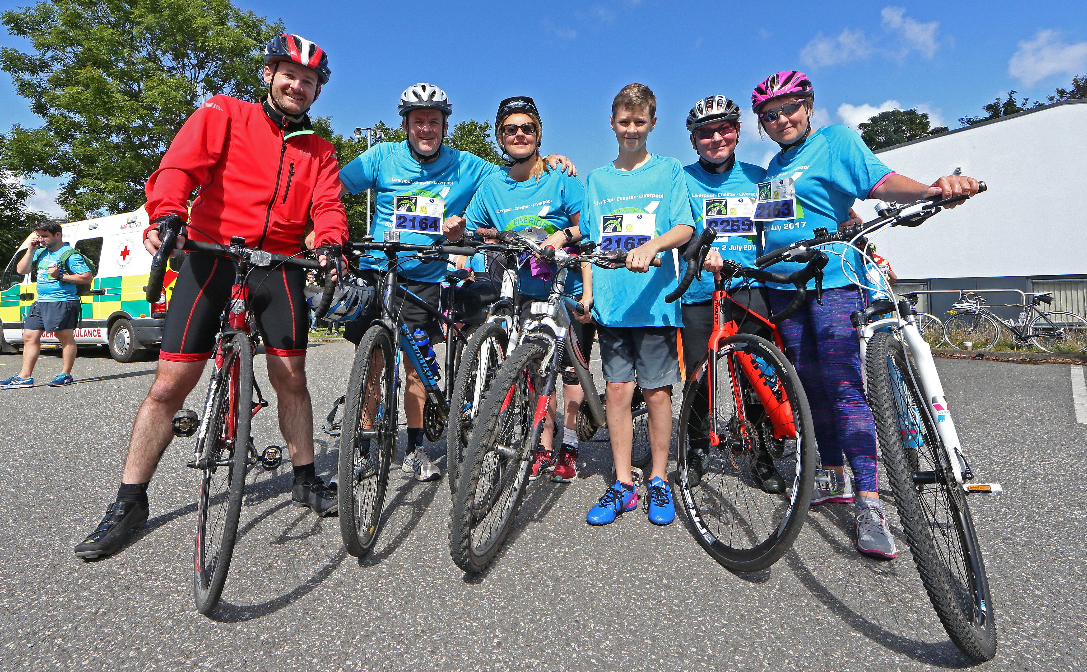 Liverpool Chester Bike Ride