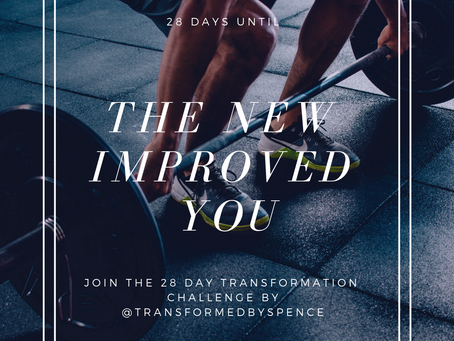 THE NEXT 28 DAY TRANSFORMATION CHALLENGE STARTS MONDAY