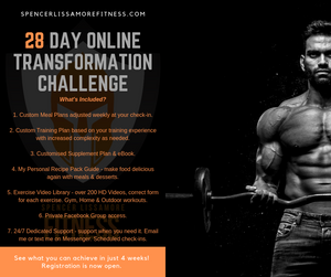 The 28 Day Online Transformation Challenge starts soon don't miss out!