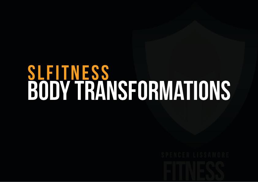 SLF Body Transformation Specialist.