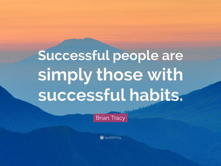 How to make future habits easy.