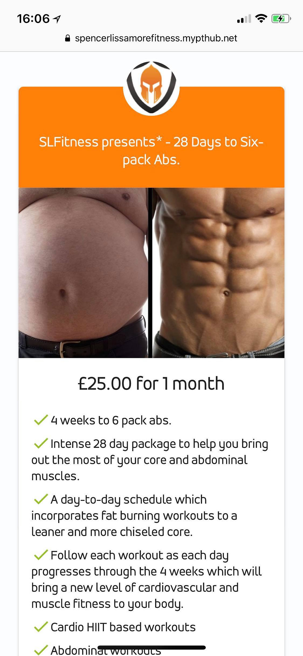 Or want a six pack in as little as a month?