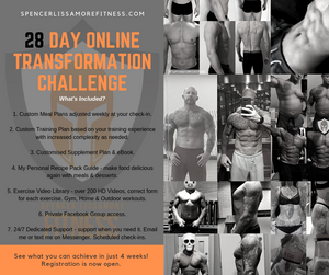 The Next 28 Day Challenge Starts Monday 15th April!