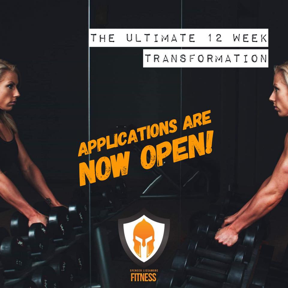 The SLF 12 Week Transformation Challenge
