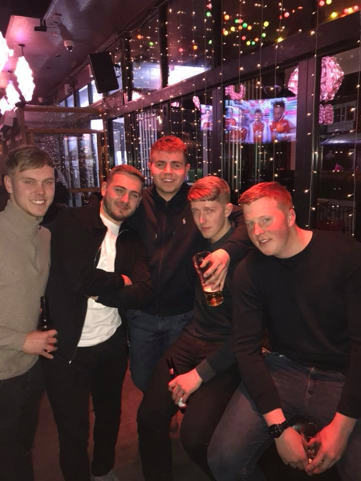 Client: Ben Squire out for drinks