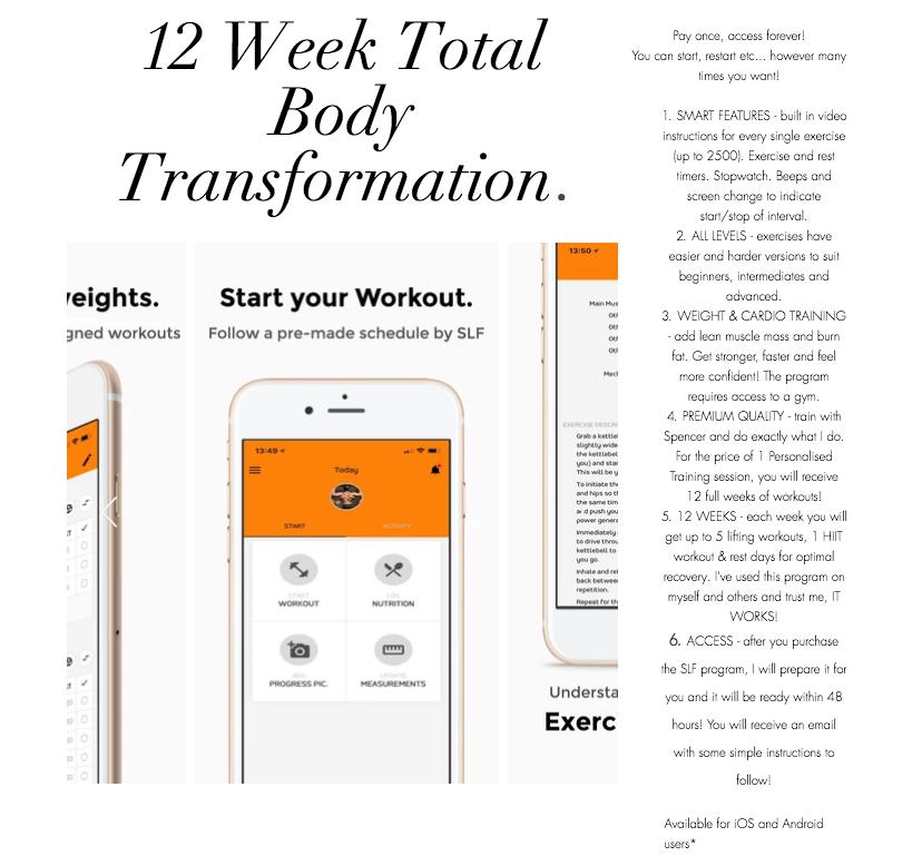 The SLF 12 Week Total Body Overhaul!