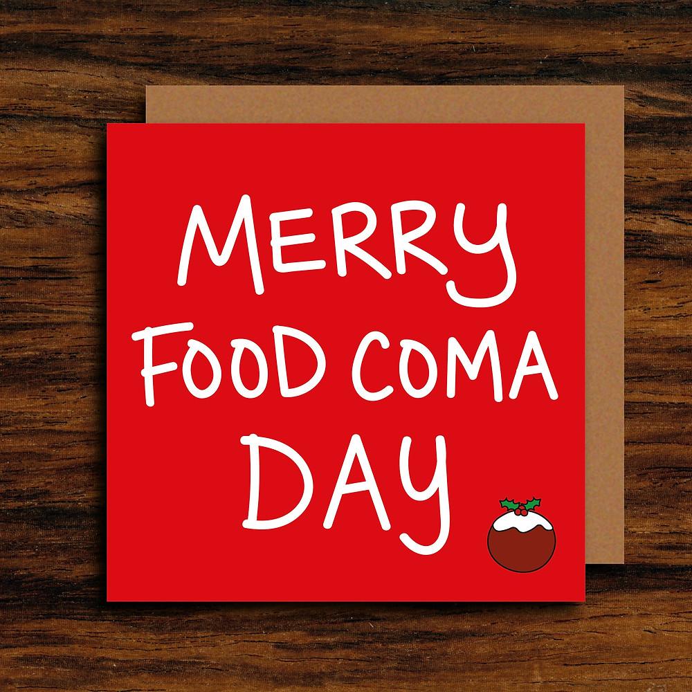 Food Coma or Christmas Day.