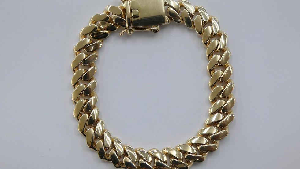 9ct 12mm Cuban bracelet