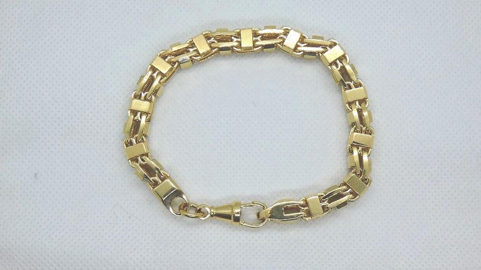 9ct 8mm Cage Bracelet
