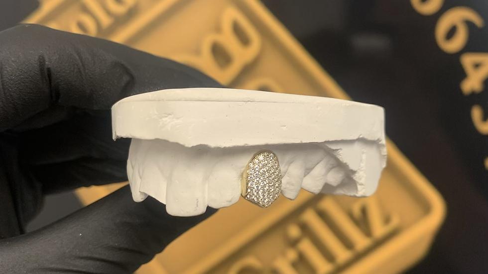 Vs Diamond set tooth