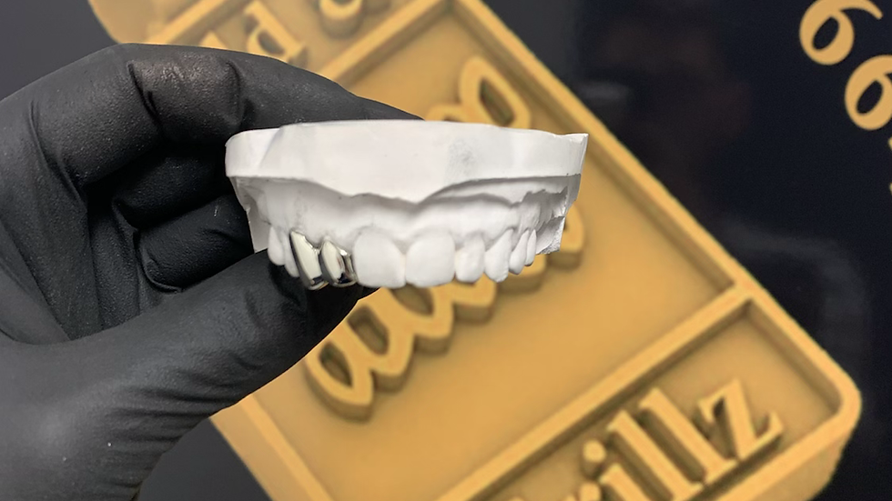 Two teeth