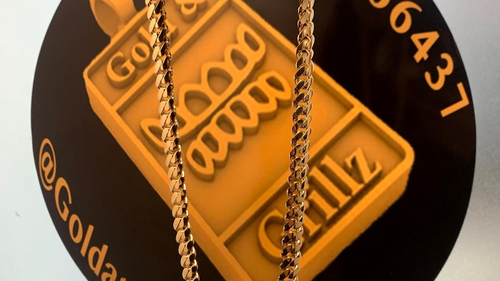 9ct Cuban Chain