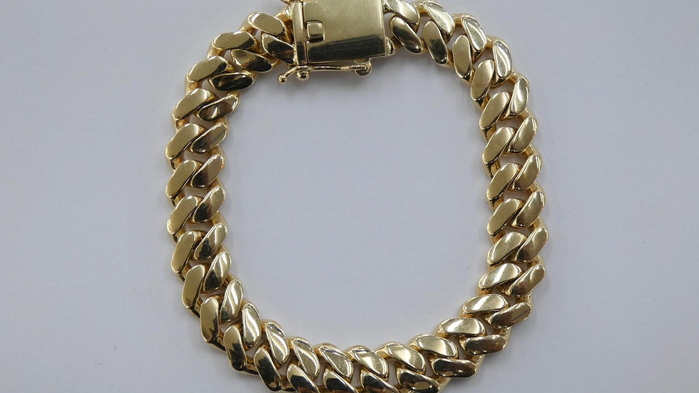 9ct 15mm Cuban bracelet