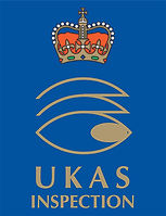 P&J Dust UKAS Accreditation Logo
