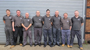 P&J Dust Extraction Sales Team, national organisation, local engineers
