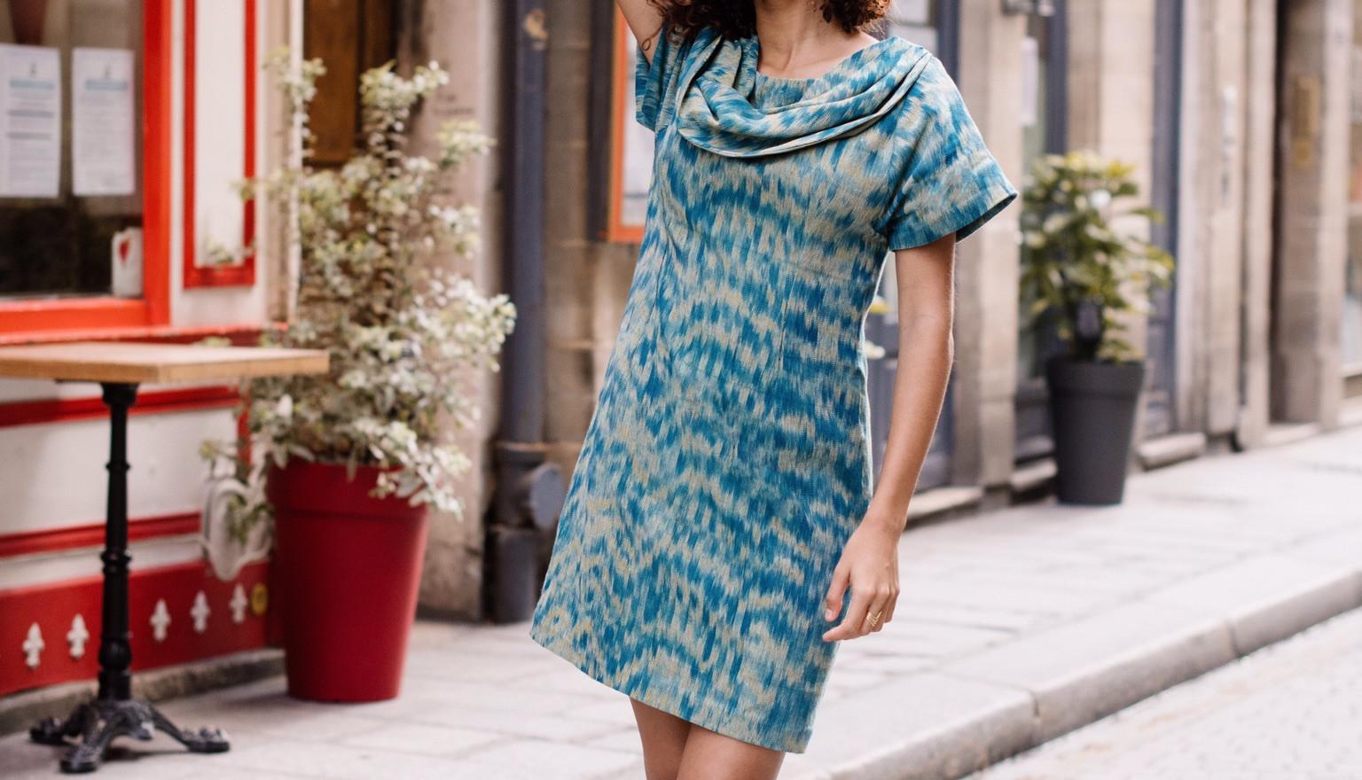 La robe Lum- 550€
