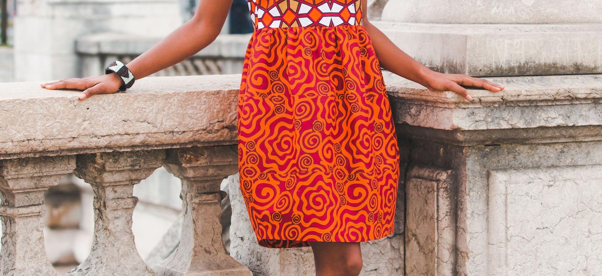 Mvuto dress- 350€