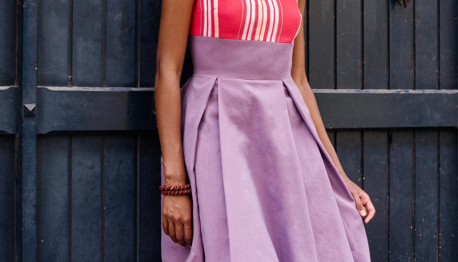La robe Mila- 440€