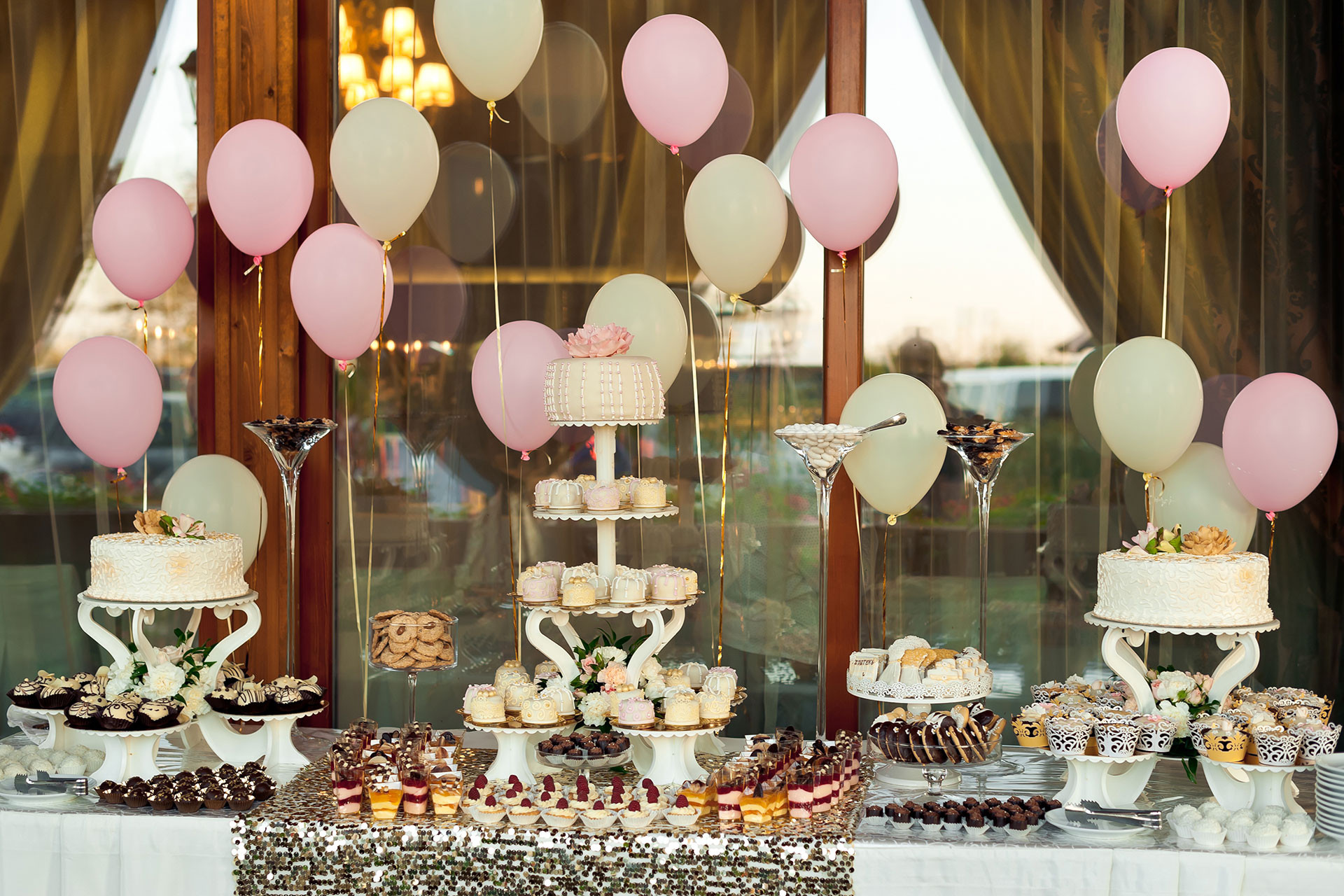 Party Cake Table Decorations