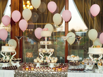 Buffet Table meets Disposables....A Perfect Match!