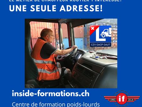 Flash spécial: le coût du permis poids-lourds en Suisse
