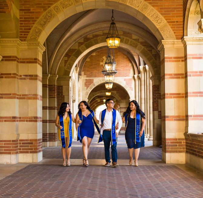 Kim & Friends - UCLA Graduation Photos