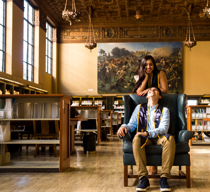 Michelle & Kunal UC Berkeley