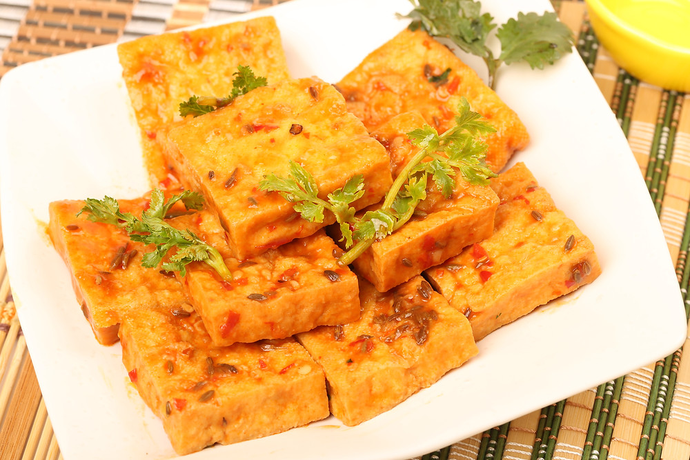 Smokey Barbecue tofu