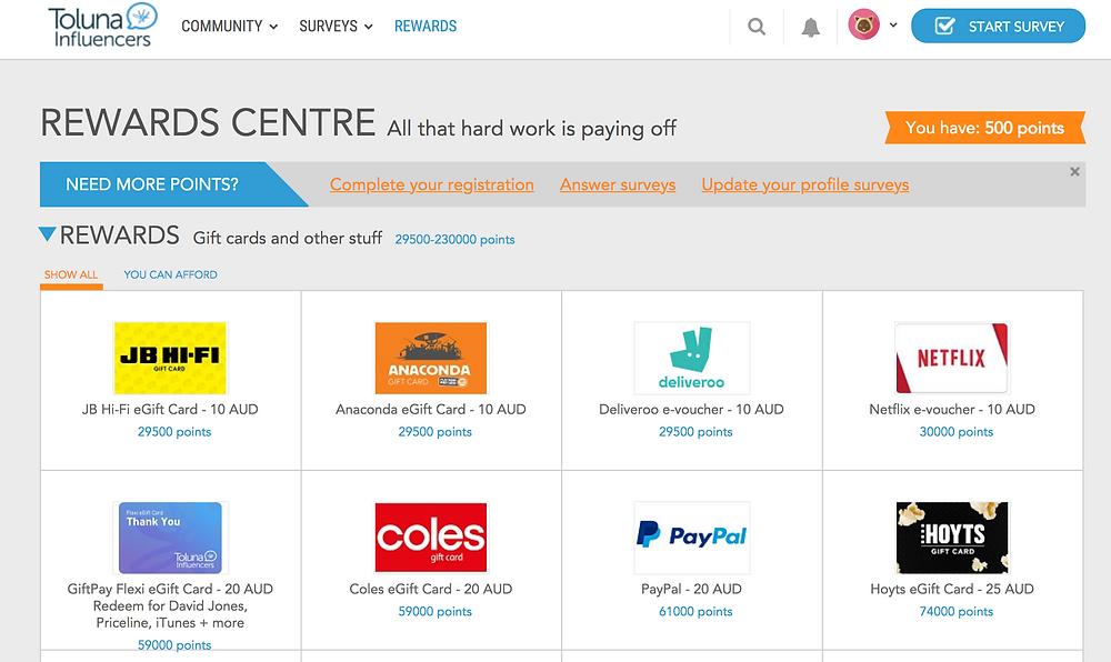 Can you make money from online surveys: toluna