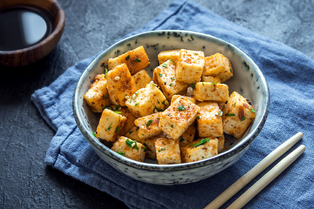 Mixed Herb Tofu