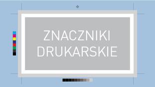 Znaczniki drukarskie – czym są? Słownik słówek.