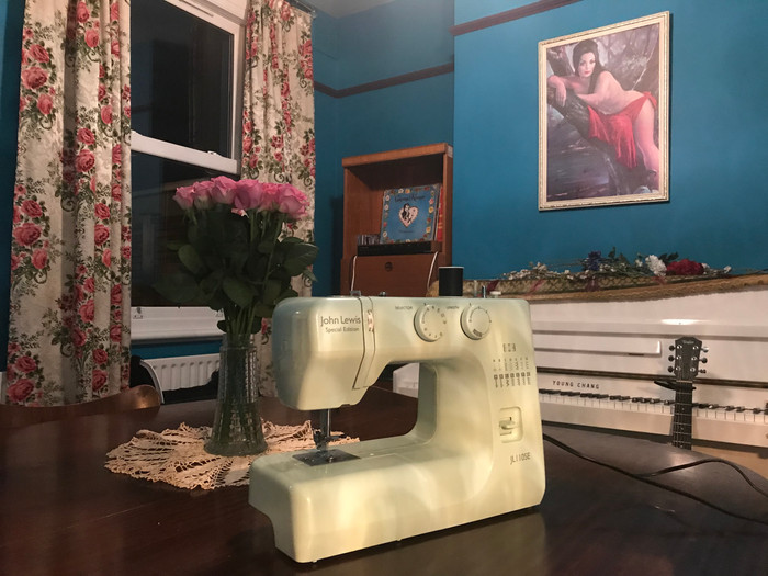 My Sewing Machine's Up and Running, At Last...
