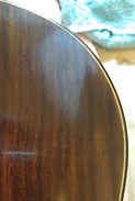 Guitar French Polish Before