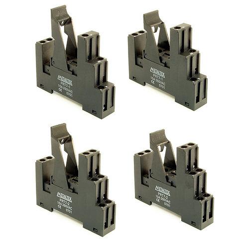 Soquete para relé 5 ou 8 pinos - PRT7