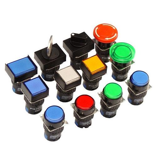 Botões P16 - Ø16mm