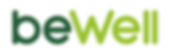BeWell Logo - CROPPED Dark Green and Lig