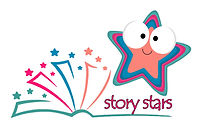 Story stars baby sensosry and messy play in bristol hanham downend brislington logo