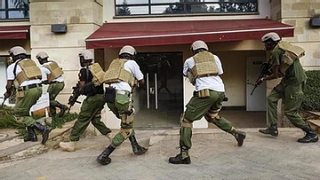 Military increasing the death toll when cracking down on Kenya's curfew during a global pandemic (COVID-19).