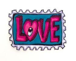 Love Stamp Valentine 2016