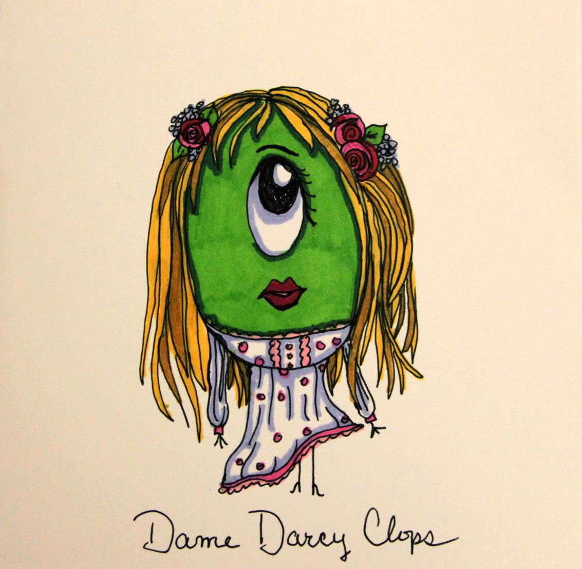 Dame Darcy Clops Card
