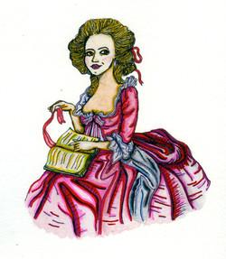 Marie Antoinette Drawing