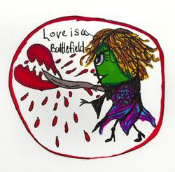 Love is a Battlefield Valentine 2016