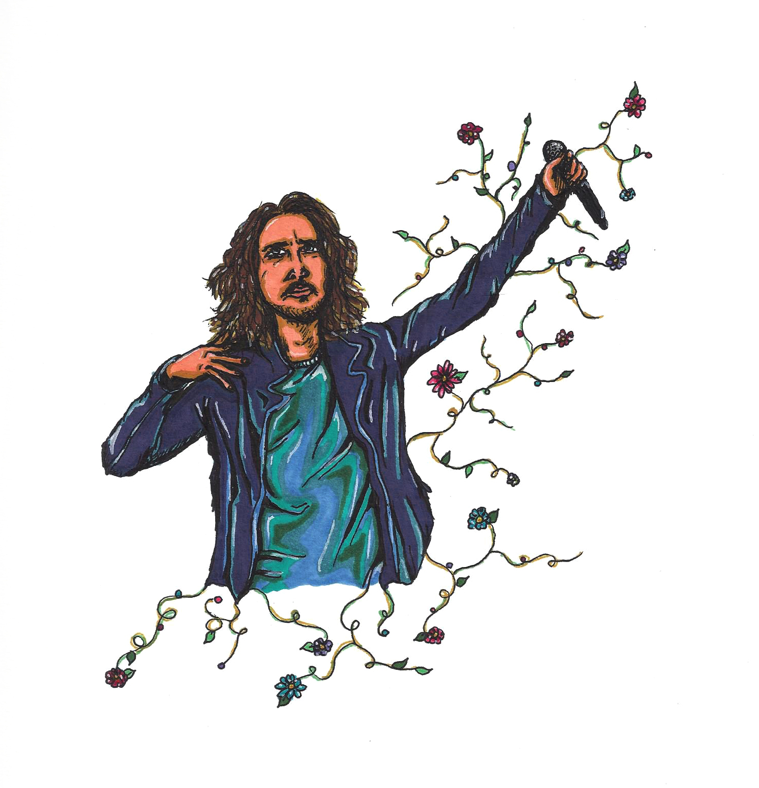 Chris Cornell Blossoms