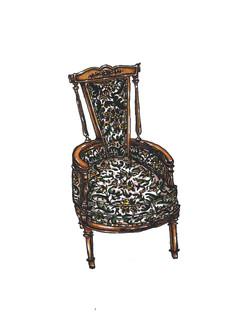 Edwardian Round Chair