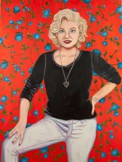 Self-Portrait As Marilyn Monroe