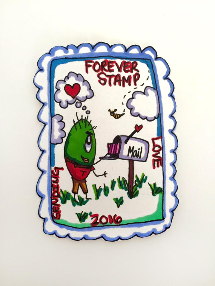 Forever Stamp Valentine 2016